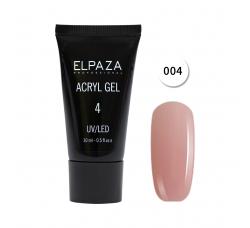 Акрил гель Поли гель Elpaza UVLED acryl gel 30ml professional 04