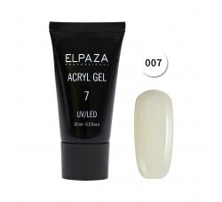 Акрил гель Поли гель Elpaza UVLED acryl gel 30ml professional 07