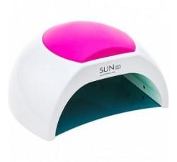 Лампа гибридная для гель лака и геля UV/LED SUN2С 48 Вт с ЖК дисплеем белая