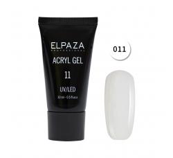 Акрил гель Поли гель Elpaza UVLED acryl gel 30ml professional 11