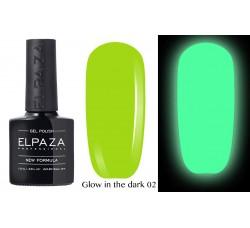 Гель-лак Elpaza Glow Neon Collection неоновая серия светится в темноте при ультрофиолете 02