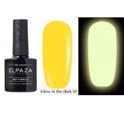 Гель-лак Elpaza Glow Neon Collection неоновая серия светится в темноте при ультрофиолете 06