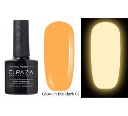 Гель-лак Elpaza Glow Neon Collection неоновая серия светится в темноте при ультрофиолете 07