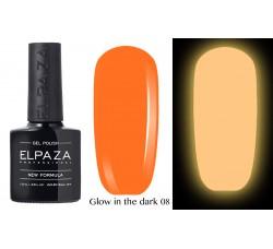 Гель-лак Elpaza Glow Neon Collection неоновая серия светится в темноте при ультрофиолете 08