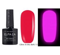 Гель-лак Elpaza Glow Neon Collection неоновая серия светится в темноте при ультрофиолете 13