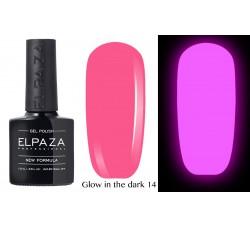 Гель-лак Elpaza Glow Neon Collection неоновая серия светится в темноте при ультрофиолете 14