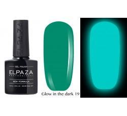 Гель-лак Elpaza Glow Neon Collection неоновая серия светится в темноте при ультрофиолете 19