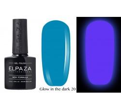 Гель-лак Elpaza Glow Neon Collection неоновая серия светится в темноте при ультрофиолете 20