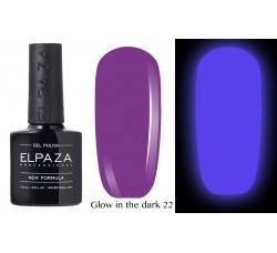 Гель-лак Elpaza Glow Neon Collection неоновая серия светится в темноте при ультрофиолете 22