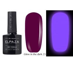 Гель-лак Elpaza Glow Neon Collection неоновая серия светится в темноте при ультрофиолете 23