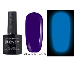 Гель-лак Elpaza Glow Neon Collection неоновая серия светится в темноте при ультрофиолете 24