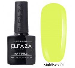 Гель-лак Elpaza Neon Collection неоновые серия MALDIVES 01