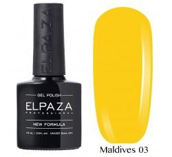 Гель-лак Elpaza Neon Collection неоновые серия MALDIVES 03