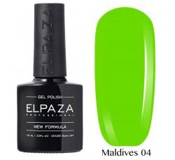 Гель-лак Elpaza Neon Collection неоновые серия MALDIVES 04