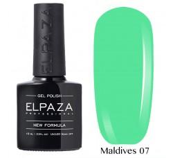 Гель-лак Elpaza Neon Collection неоновая серия 10мл MALDIVES 07 неоновые