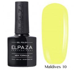 Гель-лак Elpaza Neon Collection неоновая серия 10мл MALDIVES 10 неоновые