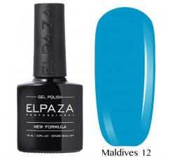 Гель-лак Elpaza Neon Collection неоновая серия 10мл MALDIVES 12 неоновые