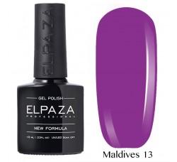 Гель-лак Elpaza Neon Collection неоновая серия 10мл MALDIVES 13 неоновые