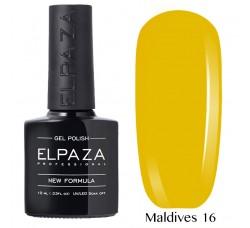 Гель-лак Elpaza Neon Collection неоновая серия 10мл MALDIVES 16 неоновые