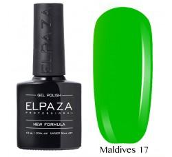 Гель-лак Elpaza Neon Collection неоновая серия 10мл MALDIVES 17 неоновые