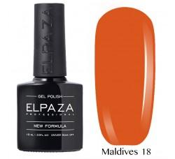 Гель-лак Elpaza Neon Collection неоновая серия 10мл MALDIVES 18 неоновые