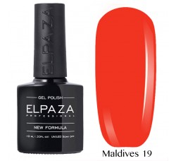 Гель-лак Elpaza Neon Collection неоновая серия 10мл MALDIVES 19 неоновые