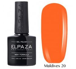 Гель-лак Elpaza Neon Collection неоновая серия 10мл MALDIVES 20 неоновые