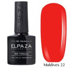 Гель-лак Elpaza Neon Collection неоновая серия 10мл MALDIVES 22 неоновые