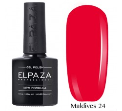 Гель-лак Elpaza Neon Collection неоновая серия 10мл MALDIVES 24 неоновые