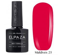 Гель-лак Elpaza Neon Collection неоновая серия 10мл MALDIVES 25 неоновые