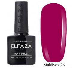 Гель-лак Elpaza Neon Collection неоновая серия 10мл MALDIVES 26 неоновые