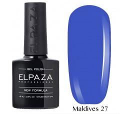 Гель-лак Elpaza Neon Collection неоновая серия 10мл MALDIVES 27 неоновые