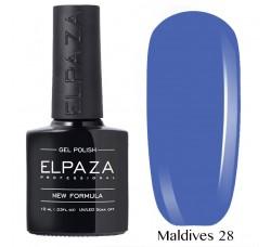 Гель-лак Elpaza Neon Collection неоновая серия 10мл MALDIVES 28 неоновые