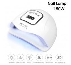Лампа гибридная для гель лака и геля UV/LED Sun5 Max 150 Вт с ЖК дисплеем