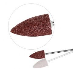 Насадка Фреза Бор Головка сводчатая шлифовальная для педикюра полимерная ГСв-10 коричневая фрезы