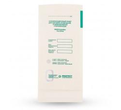 Крафт пакеты для паровой и воздушной стерилизации Медтест Белые, 75 х150 мм, 100 шт