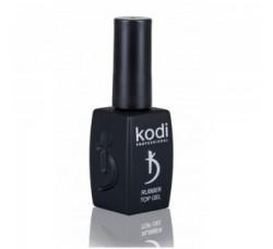 Kodi Rubber Top Gel - Каучуковое верхнее покрытие (Топ) для гель-лака (шеллака), 12 мл.