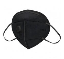 Маски противовирусная 6-ти слойные с угольным фильтром черные маска для лица