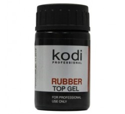 Kodi Rubber Top Gel - Каучуковое верхнее покрытие (Топ) для гель-лака (шеллака), 14 мл.