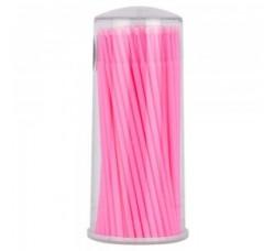 Микробраш Щеточки Microbrush микрощеточки безворсовые 100шт Микробраши розовые